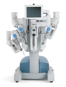 Picture of daVinci robot