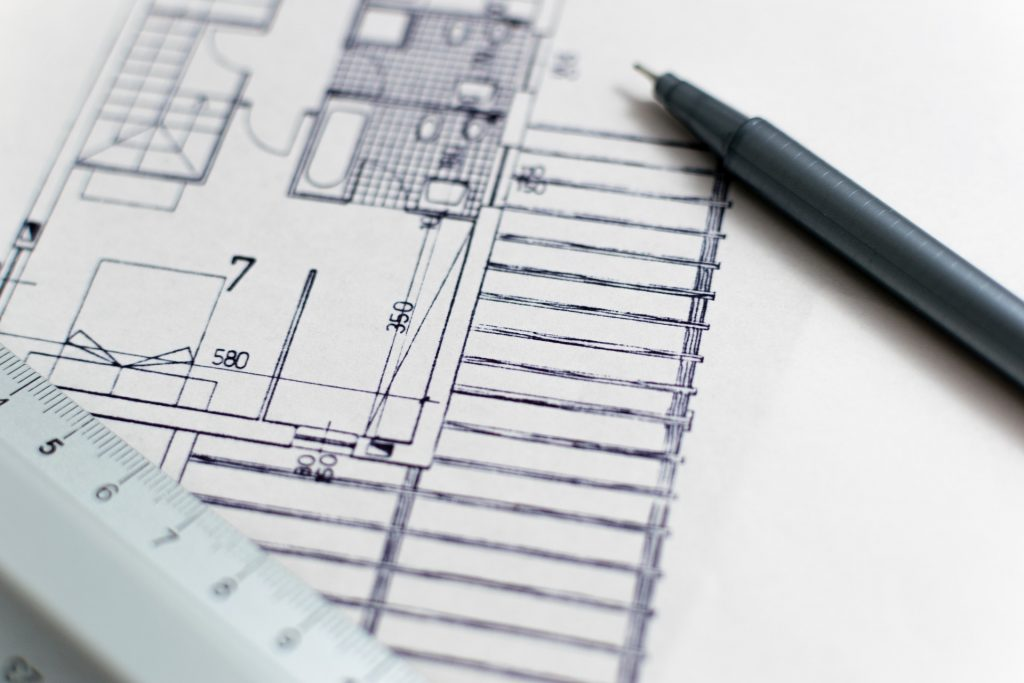 Architect drawing - Roar Software