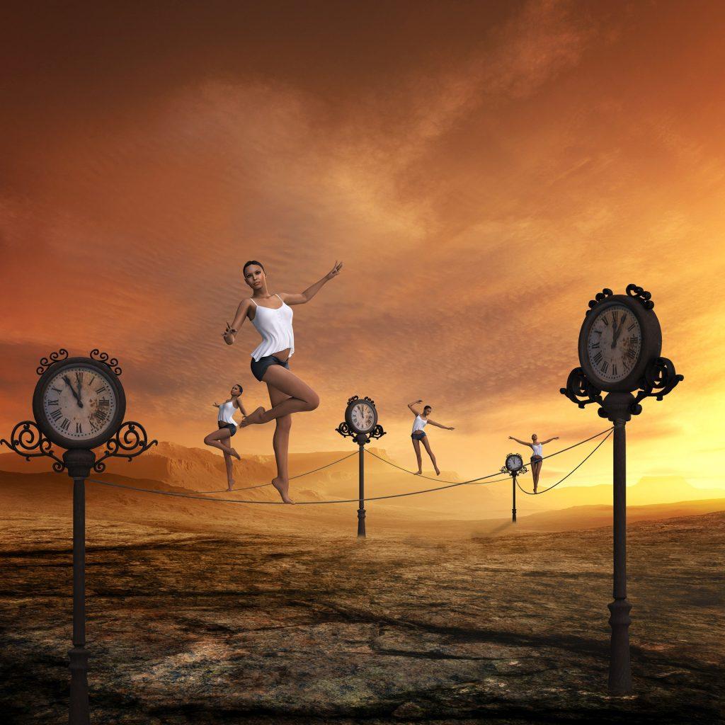 Balancing time image